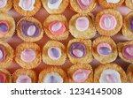 still life children birthday... | Shutterstock . vector #1234145008