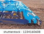 soil plow for preparation for... | Shutterstock . vector #1234160608