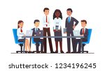 executive business people group ... | Shutterstock .eps vector #1234196245