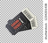 vector two designed cinema... | Shutterstock .eps vector #1234201438