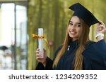 graduation student commencement ... | Shutterstock . vector #1234209352