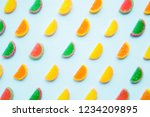 Slices Of Colorful Candied...