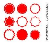 frame modern circle design  | Shutterstock .eps vector #1234218328