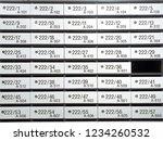 furniture background white... | Shutterstock . vector #1234260532