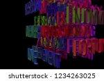 3d rendering. motivation...   Shutterstock . vector #1234263025