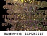3d rendering. keywords cloud ...   Shutterstock . vector #1234263118