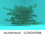 cgi typography  business or...   Shutterstock . vector #1234264588