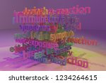 keywords cloud  health related  ...   Shutterstock . vector #1234264615