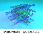 3d rendering. medication...   Shutterstock . vector #1234264618