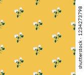 seamless vector ornamental... | Shutterstock .eps vector #1234273798