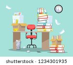 period of accountants and... | Shutterstock .eps vector #1234301935