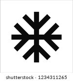 season snow vector icon | Shutterstock .eps vector #1234311265