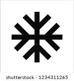 season snow vector icon | Shutterstock .eps vector #1234311265