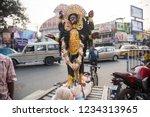 kolkata  india 16 january 2018  ... | Shutterstock . vector #1234313965