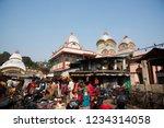 kolkata  india 16 january 2018  ... | Shutterstock . vector #1234314058
