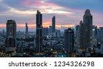 bangkok city   aerial view ... | Shutterstock . vector #1234326298
