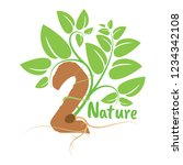 logo and symbol for nature | Shutterstock .eps vector #1234342108
