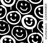 vector seamless patterns.... | Shutterstock .eps vector #1234344805