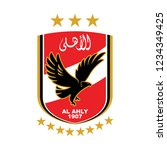 al ahly sporting club 1907 with ...   Shutterstock .eps vector #1234349425