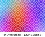 light multicolor  rainbow...   Shutterstock .eps vector #1234360858