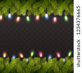 vector realistic background... | Shutterstock .eps vector #1234376665