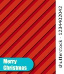 christmas background. abstract | Shutterstock .eps vector #1234402042