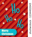 christmas background. abstract | Shutterstock .eps vector #1234402045