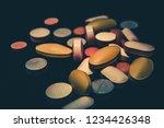 pharmaceutical medicine pills... | Shutterstock . vector #1234426348