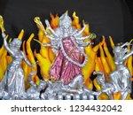 the goddess kali | Shutterstock . vector #1234432042