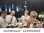 everyone is laughing now.... | Shutterstock . vector #1234463602