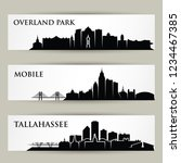 united states of america cities ... | Shutterstock .eps vector #1234467385