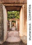 Ancient Stone Door Historic