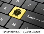 vacation concept  computer...   Shutterstock . vector #1234503205
