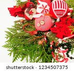 christmas decoration isolated   ... | Shutterstock . vector #1234507375