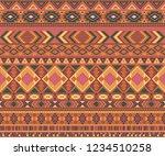peruvian american indian... | Shutterstock .eps vector #1234510258