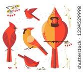 birdwatching  bird feeding icon ...   Shutterstock .eps vector #1234529998