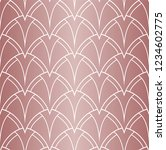 vector art deco pattern.... | Shutterstock .eps vector #1234602775