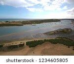 aerial view in beach of tavira  ... | Shutterstock . vector #1234605805