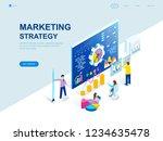modern flat design isometric... | Shutterstock .eps vector #1234635478