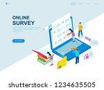 modern flat design isometric... | Shutterstock .eps vector #1234635505