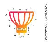 light bulb icon. lamp gu5.3...   Shutterstock .eps vector #1234658692