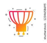 light bulb icon. lamp gu10...   Shutterstock .eps vector #1234658695