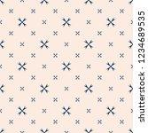 simple minimalist floral... | Shutterstock .eps vector #1234689535