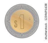 Coin Mexican Peso