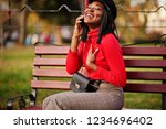 african american fashion girl... | Shutterstock . vector #1234696402