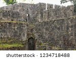 old byzantine gonio fortress...   Shutterstock . vector #1234718488