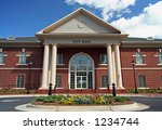 small town city hall building | Shutterstock . vector #1234744
