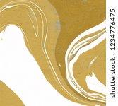 luxury gold marble ink paper... | Shutterstock . vector #1234776475