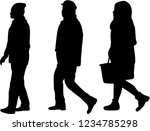 group of people. crowd of...   Shutterstock .eps vector #1234785298