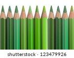 Crayon  Crayons  Green ...